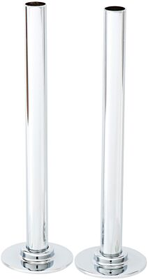 Pair of 180mm Tubes with Plates