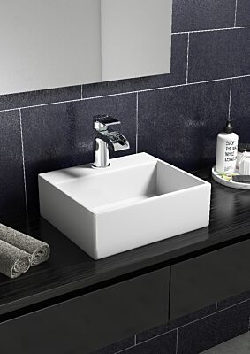 Wall Hung & Sit On Small Cloakroom Basin