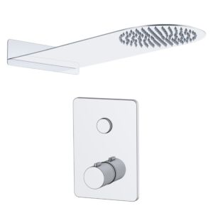Touch Taio Doccia 1 Single Thermo Concealed Valve & Kit