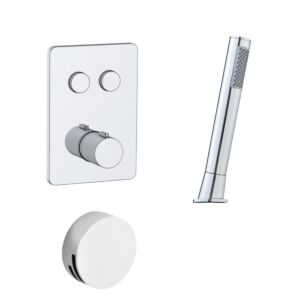 Touch Taio Doccia 5 Dual Thermo Concealed Valve & Kit
