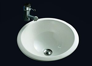 This stylish modern basin is designed for over or under counter installation providing flexibility for your installation.