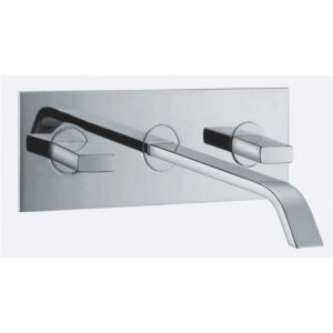 Flusso Wall Mounted Basin Mixer
