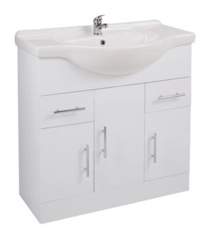 Kass 850mm Unit with Basin