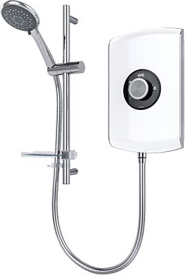 Triton Amore Electric Shower 8.5kw White Gloss