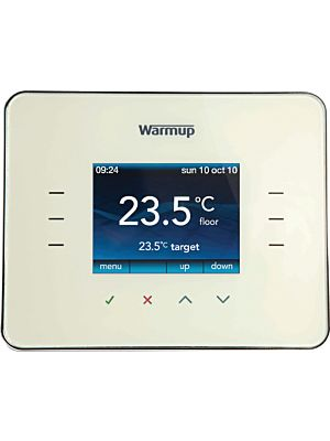 Warmup 3iE Energy Monitor Classic Cream Thermostat