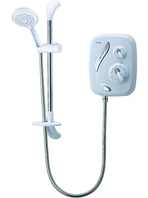 Triton Power Shower AS2000XT Thermostatic White/Chrome