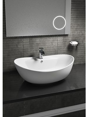 Oval Counter Top Basin w/ 1 Tap Hole