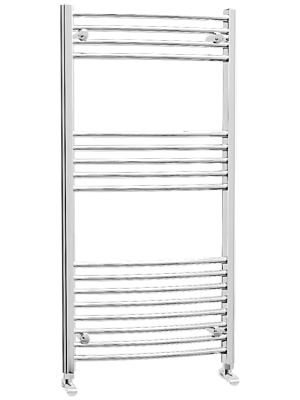 Hayle Curved Towel Radiator (600 x 1200mm)