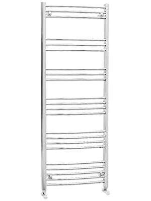 Hayle Curved Towel Radiator (600 x 1600mm)