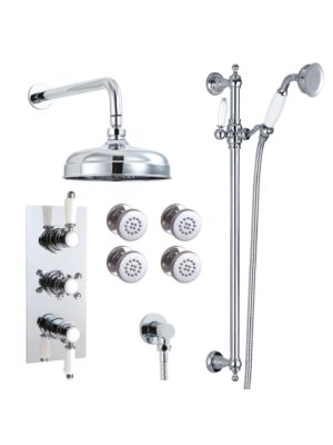 Doccia Traditional 28 Triple Function Thermo Shower Valve HP+