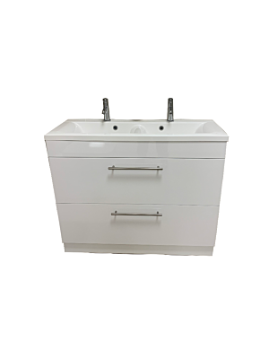Oslo 1000 Double Unit, Basin & Tap Bundle
