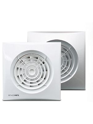 Silent 100 Whisper Quiet White Fan (4