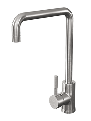 Square Single Lever Mono Kitchen Sink Mixer