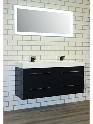 Mirae 1200mm Wall Hung Cabinet & Basin