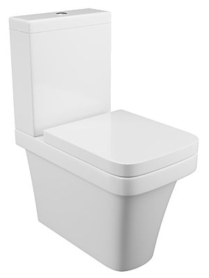 Rivelin Fully Cloaked Pan, Cistern & Seat