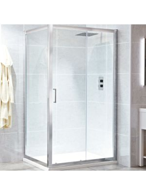 Spirit 8mm Framed Single Sliding Door 170cm