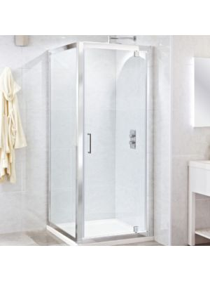 Spirit 8mm Pivot Door 76cm