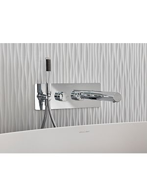 V+A Tubo 20 Thermo Exposed Shower Mixer Chrome