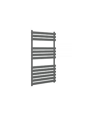 Tunstall Modern Towel Radiator Matt Anthracite 1200mm x 500mm
