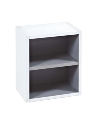 Malmo Gloss White Open Storage Unit