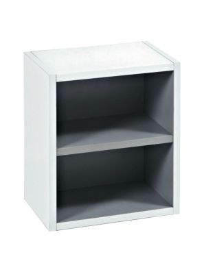 Cloak Room Gloss White Open Storage Unit