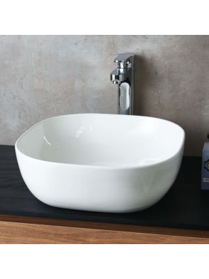 Ceramic Square Counter Top Basin (No Overflow)