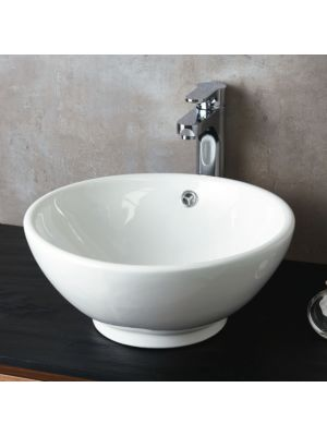 Ceramic Round Counter Top Basin H17