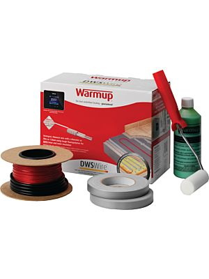 Warmup Loose Wire Under Tile Heating  (4.5-5.9m2 / 800watt)