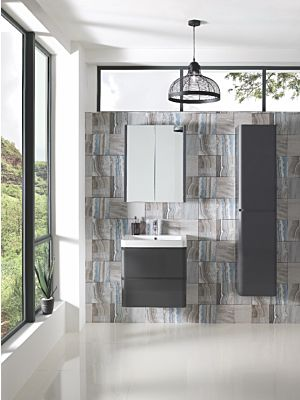 Aurora 600mm Wall Hung Cabinet & Basin