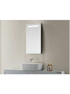 Blenheim Single Door Mirror Cabinet w/ Bluetooth