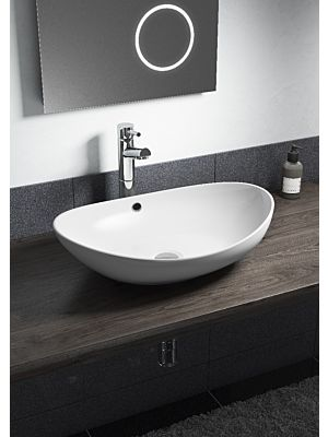 Oval Counter Top Basin w/ No Tap Hole