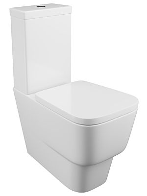 Dearne Close Coupled Pan, Cistern & Seat