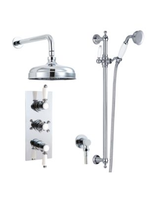 Doccia Traditional 27 Dual Function Thermo Shower Valve HP