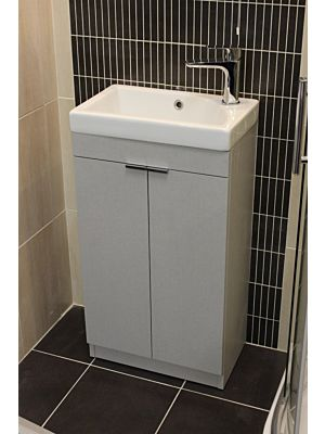 Faro 450mm Unit & Basin - Linen