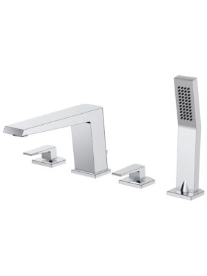 Kiara 4 Hole Bath Shower Mixer