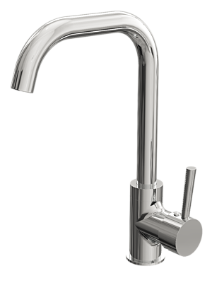 Mono Kitchen Tap - Chrome