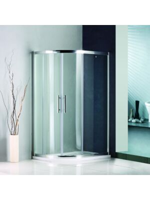 Lily Offset Quadrant Bundle 1200mm x 800mm (Door, Tray & Waste)