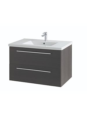 Mirae 800mm Wall Hung Cabinet & Basin