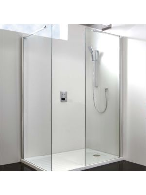 10mm Wetroom Glass Panel 30cm