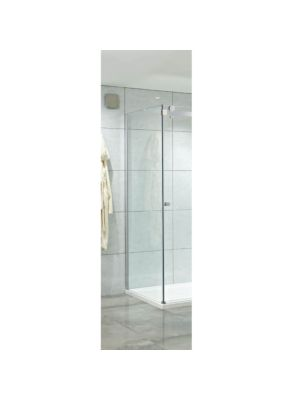 Motion 8mm Frameless Single Slider Side Panel 76cm