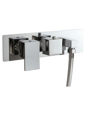 Concealed Twin Valve - Dual Function (inc Outlet Elbow) MP Lever