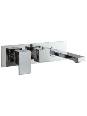 Concealed Single Func. Thermo Twin Valve (inc Bath Spout) MP LVR