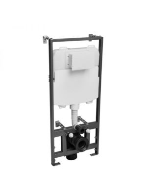 Tavistock Wall Hung Frame 1.17m (Includes Cistern)