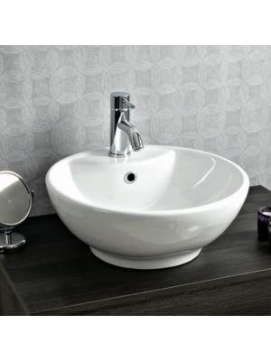 Ceramic Round Counter Top Basin H19