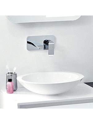 Mineral Cast Round Counter Top Basin (No Overflow)