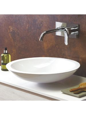 Mineral Cast Round Counter Top Basin (No Overflow) H12